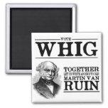 Vote Whig Fridge Magnets