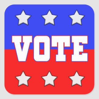 Vote with Stars Stickers