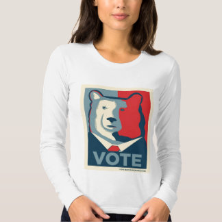 VOTE Womens Long Sleeve Shirt
