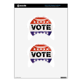 Vote! Xbox 360 Controller Decal