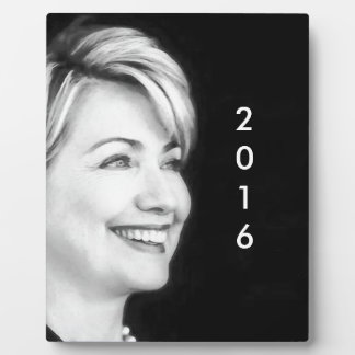 Vote Yes For Hillary in 2016 Photo Plaques