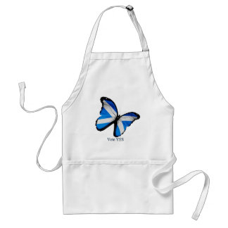Vote Yes for Scottish Independence Adult Apron