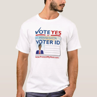 Vote Yes on Voter ID T-Shirt
