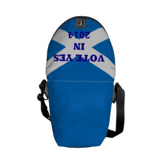 Vote YES Scottish Referendum Handbag Messenger Bag