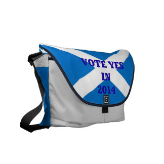 Vote YES Scottish Referendum Messenger Bag