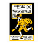 Vote Yes! Womens Suffrage 1915 Postcard
