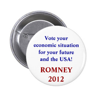 Vote your economic situation round Button