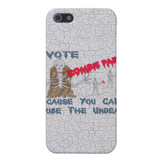 VOTE ZOMBIE PARTY CASE FOR iPhone SE/5/5s