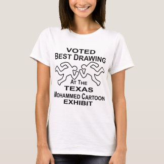 Voted Best Drawing Mohammed Cartoon Exhibit T-Shirt