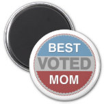 Voted Best Mom T-shirts and Gifts Refrigerator Magnet