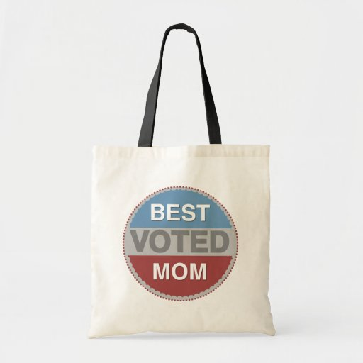 Voted Best Mom T-shirts and Gifts Tote Bags