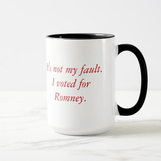 Voted for Romney Mug