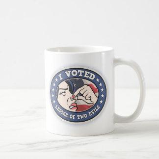 Voted Lesser -f Coffee Mug