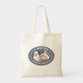Voted Lesser -f Tote Bag