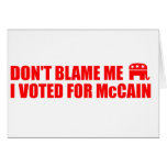 VOTED - MCCAIN GREETING CARDS