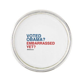 VOTED OBAMA EMBARRASSED YET