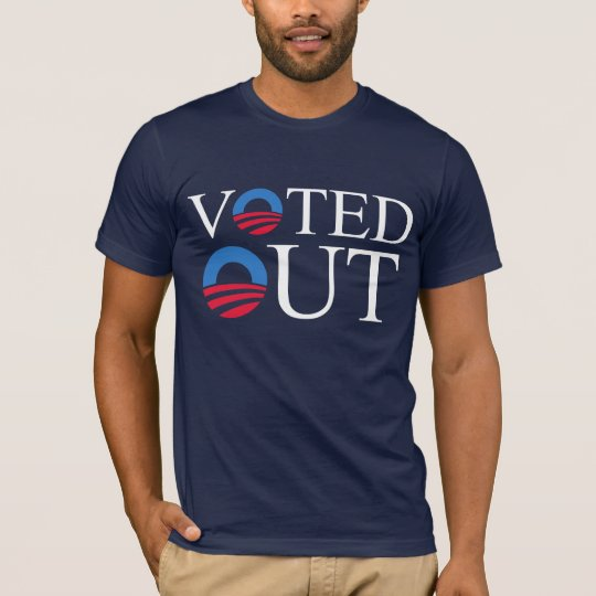 VOTED OUT anti-Obama T-shirt