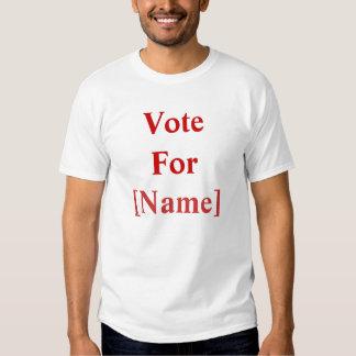 VoteFor, [nombre] Poleras