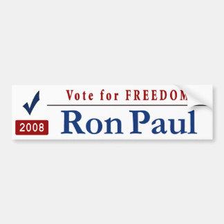 VoteForFreedom Car Bumper Sticker
