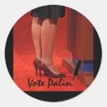 votepalin round sticker