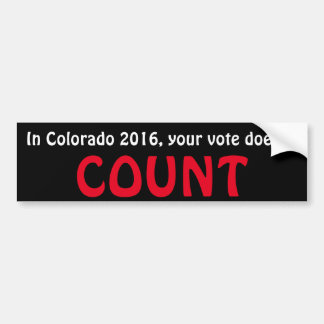voter fraud bumper sticker
