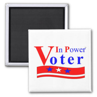 Voter In Power Magnet - Customized
