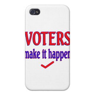 Voters Make it Happen iPhone 4/4S Case