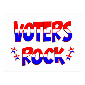 Voters Rock Postcard