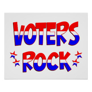 Voters Rock Posters