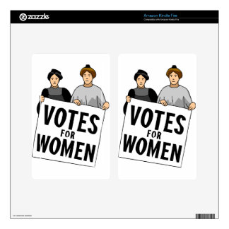 votes decal for kindle fire
