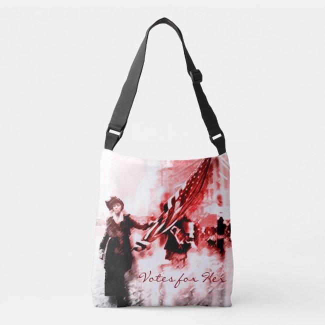 Votes for Her Cross Body Bag