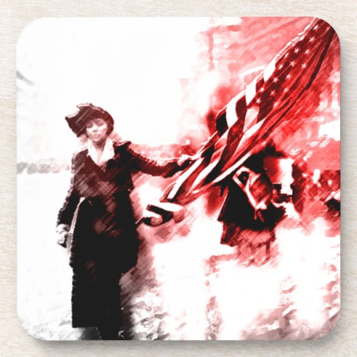 Votes For Her Drink Coasters