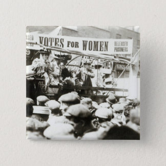 Votes for Women, August 1908 Button