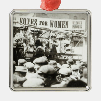 Votes for Women, August 1908 Metal Ornament