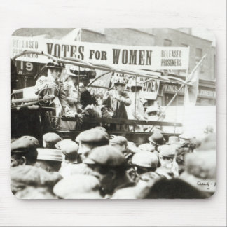 Votes for Women, August 1908 Mouse Pad