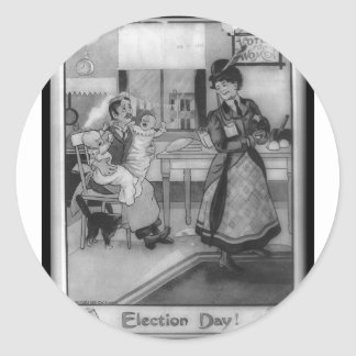 Votes for Women! Classic Round Sticker