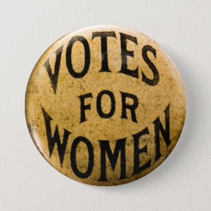 Womens Suffrage Buttons Pins No Minimum Quantity Zazzle