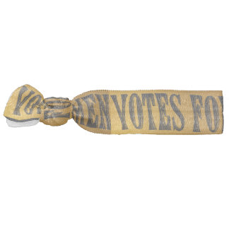 Votes for Women Suffragette Hair Tie Pony Tail