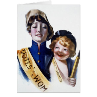 Votes for Women - Women's Suffrage, 1915 Greeting Card