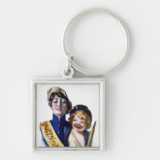 Votes for Women - Women's Suffrage, 1915 Keychain