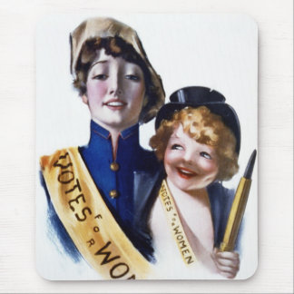 Votes for Women - Women's Suffrage, 1915 Mouse Pad