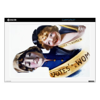 Votes for Women - Women's Suffrage, 1915 Decal For Laptop