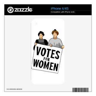 votes skin for iPhone 4