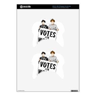 votes xbox 360 controller skin