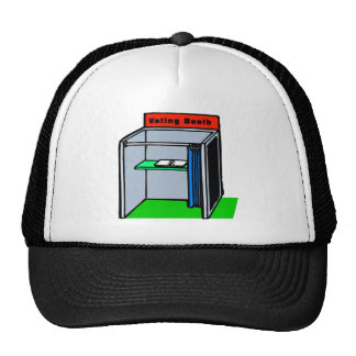 Voting Booth Hats