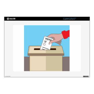 "Voting Box 15"" Laptop Decals"