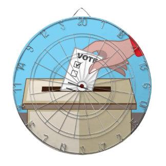 Voting Box Dart Boards