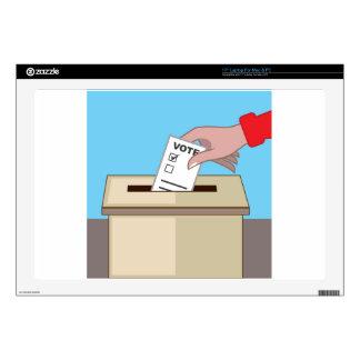 Voting Box Laptop Skin