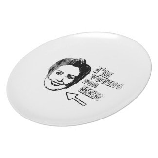 Voting for her - Faded.png Party Plates