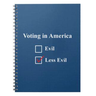 Voting in America notebook